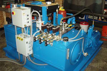 Các linh kiện tạo nên bộ nguồn thủy lực(HPUs)